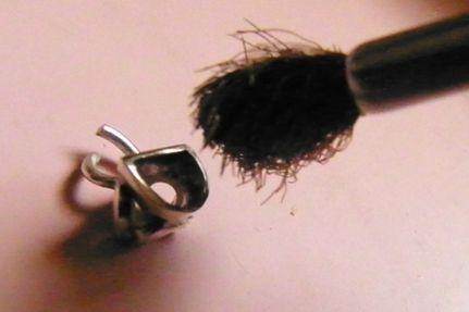 真鍮ブラシをカット (12)