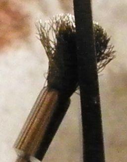 真鍮ブラシをカット (14)