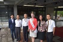 2017全米桜の女王 憲政記念館館長・副館長・課長