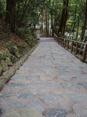 多賀宮石段