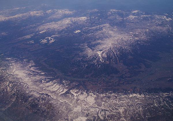 関田山脈と野沢温泉