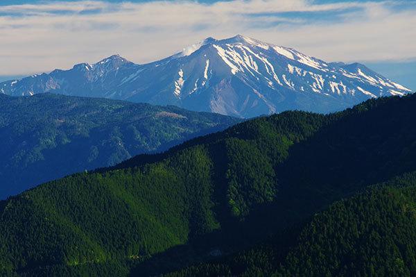 神坂峠から御嶽