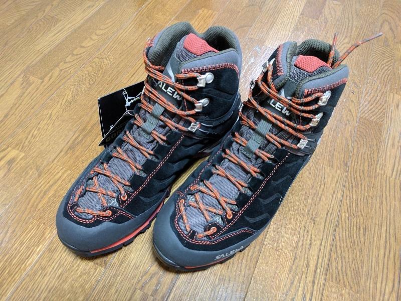 登山靴SALEWAサレワRAPACE GTX 4052
