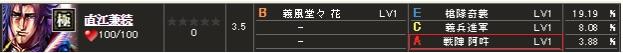 コラボ極 直江 花初期s1