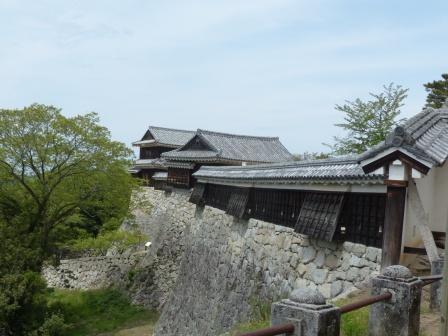 お城山 屏風折れの石垣