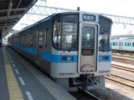 JR松山駅 7000系電車