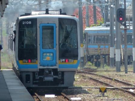 JR松山駅 2000系特急形気動車