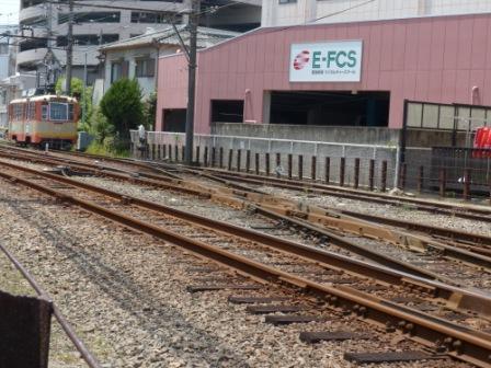 伊予鉄道・古町駅 4