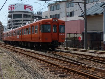 伊予鉄道・古町駅 2