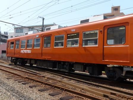 伊予鉄道・古町駅 3