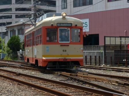 伊予鉄道・古町駅 5