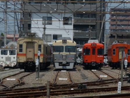 伊予鉄道・古町駅 6