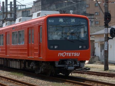 伊予鉄道・古町駅 8