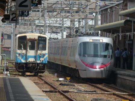 キハ32形 & 8000系特急