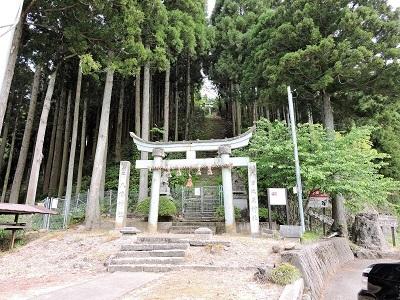 丸岡町雨乞山城跡の下見2017年5月5日 (4)
