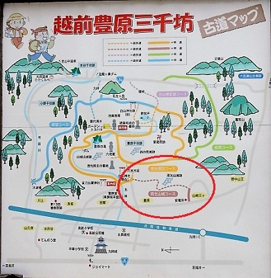 丸岡町雨乞山城跡の下見2017年5月5日(9)