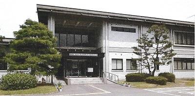 朝倉氏遺跡資料館(正面より)2