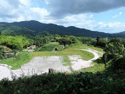 9山中御殿全景(七曲りから)