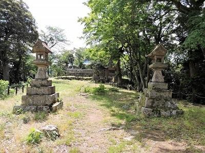 18本丸(勝日高守神社)