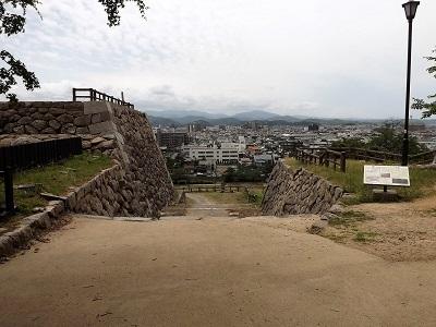 鳥取城見学 (5)
