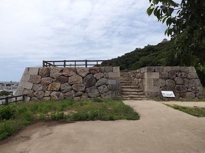 鳥取城見学 (6)