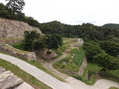 鳥取城見学 (7)
