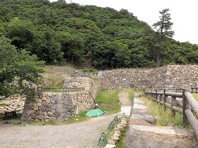 鳥取城見学 (8)