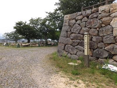 鳥取城見学 (10)