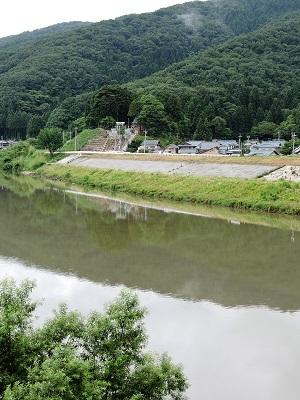 福井市安居城跡の踏査2017年7月5日 (5)