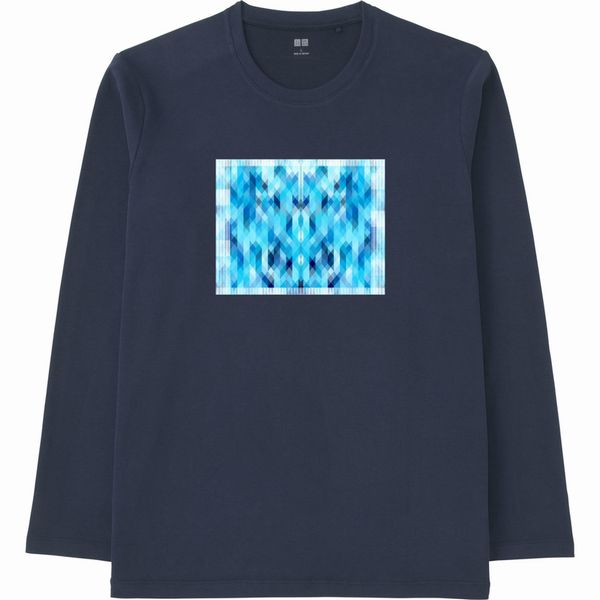 ダイヤモンド_連結(2)エンベロープ長袖Tシャツ