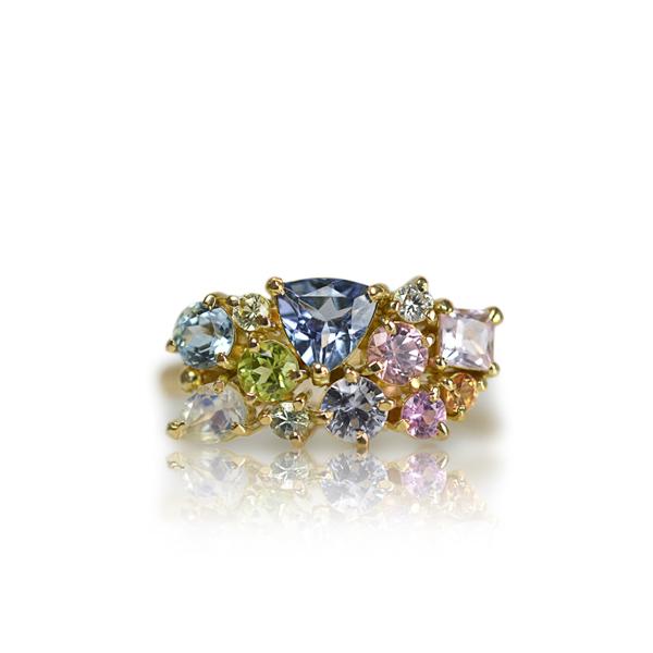 ご結婚10周年記念の指輪リングジュエリーアニバーサリー