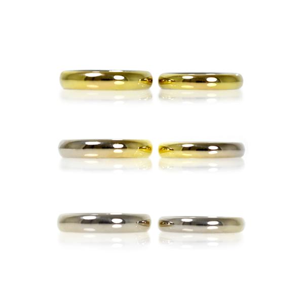 グラデーションリング指輪マリッジリング結婚指輪
