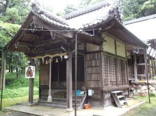石田神社本殿
