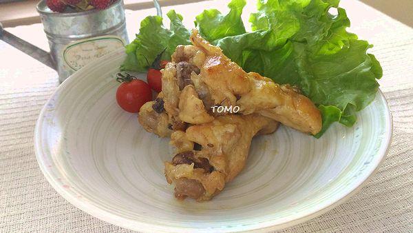 鶏ウィングの中華ごま4