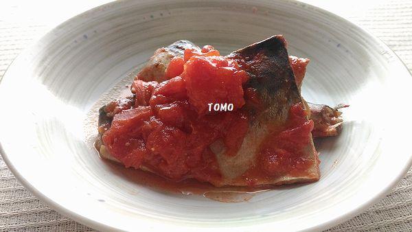 鯖のトマト味噌煮