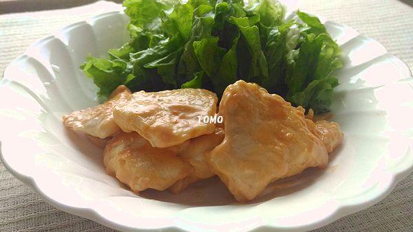 鶏胸肉のエビマヨ風