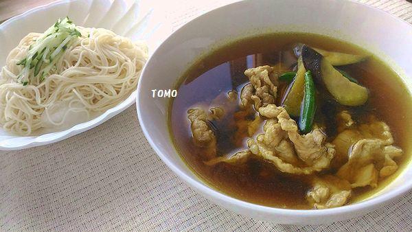 つけ麺風カレー素麺