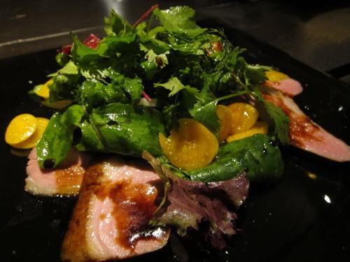 鴨のほうずきサラダ