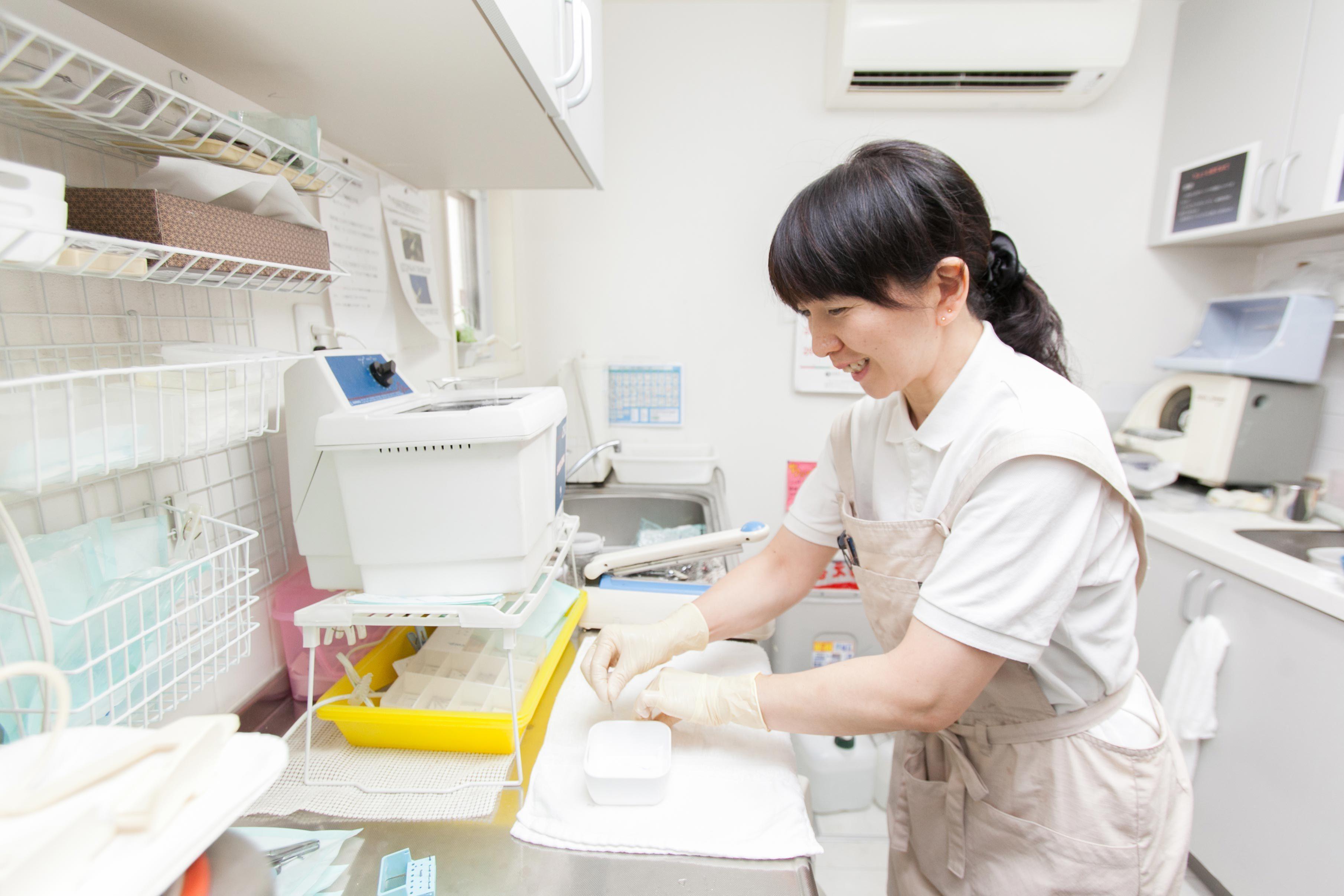 神奈川 港南台 歯科クリニック クリーンアップスタッフ