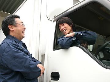 【急募】2tトラックのルート配送ドライバー正社員