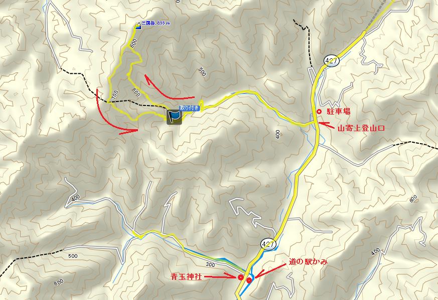 20170428三国山/地図