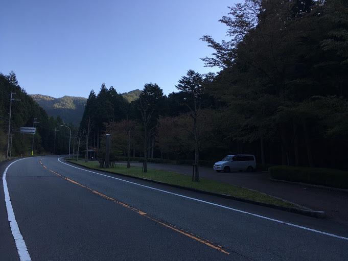 20170428三国山/駐車場