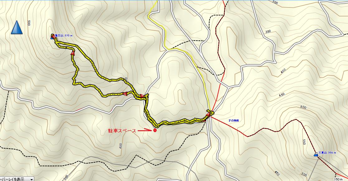 2017滝王山/地図