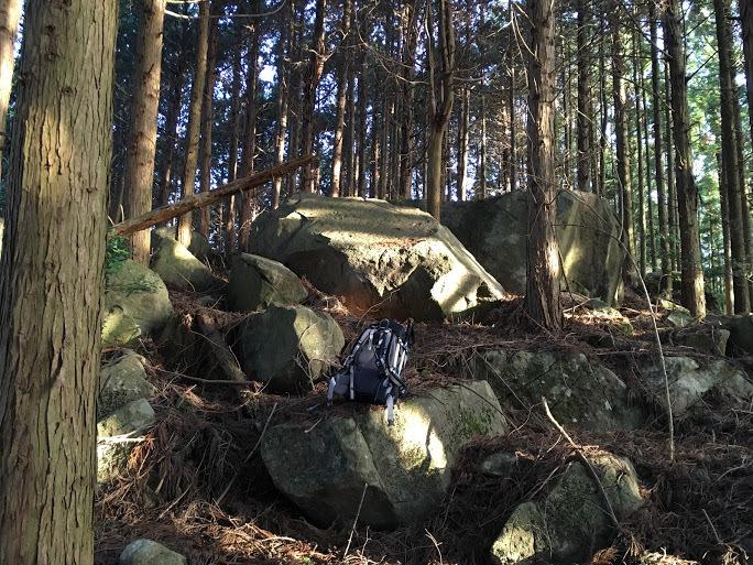 2017滝王山/岩だらけ