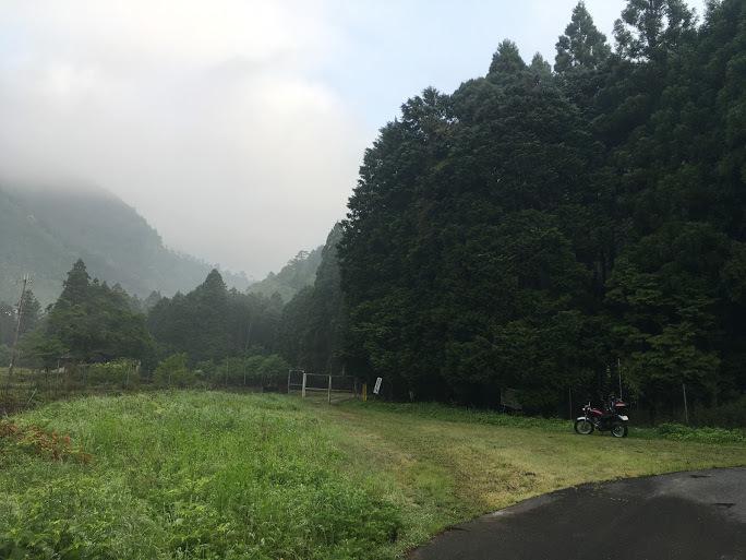 2017カヤマチ山/林道手前