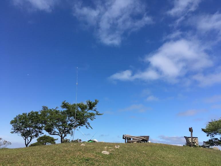 2017大野山/山頂の様子