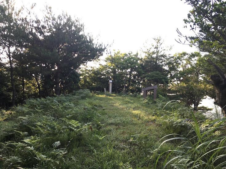 2017三国ヶ岳/山頂の様子