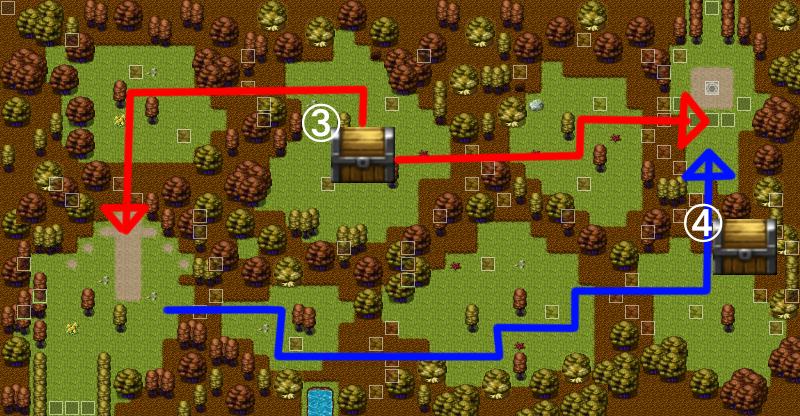 豊穣の森攻略1