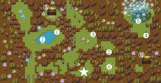 豊穣の森攻略2
