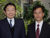 与謝野馨元財務大臣と